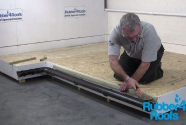 How To Install A Classicbond One Piece Epdm Rubber Roof