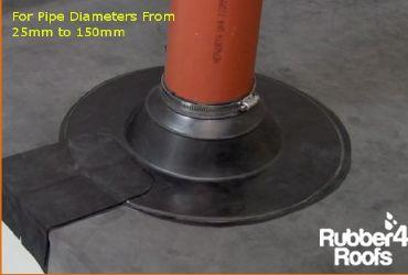 How To Install An Epdm Pipe Boot Rubber 4 Roofs