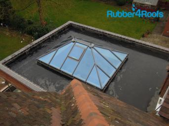 Orangery Roof Options Rubber 4 Roofs