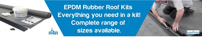 EPDM Rubber Roof Kits